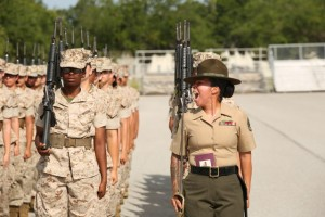 Photo Gallery: Marine recruits display discipline, cohesion during final drill evaluation on Parris Island